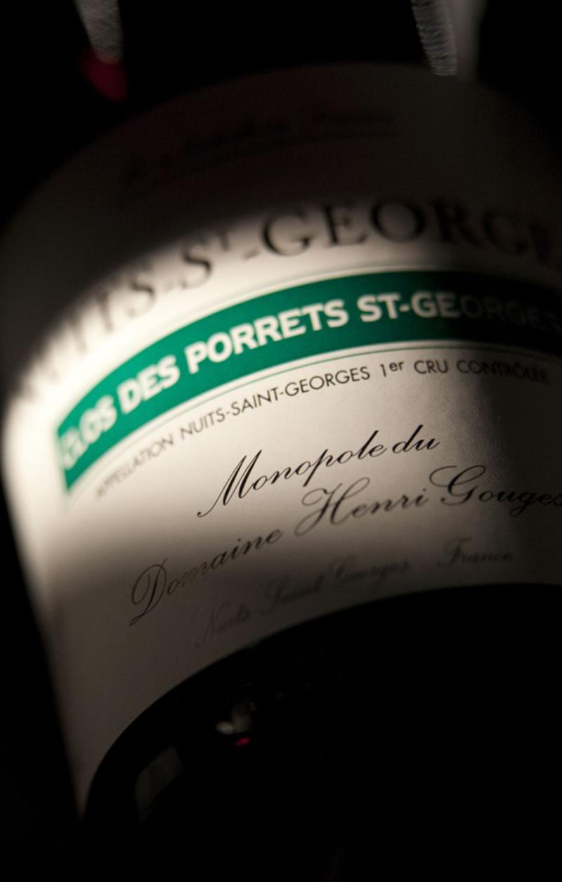 Clos des Porrets Saint Georges - Henri Gouges