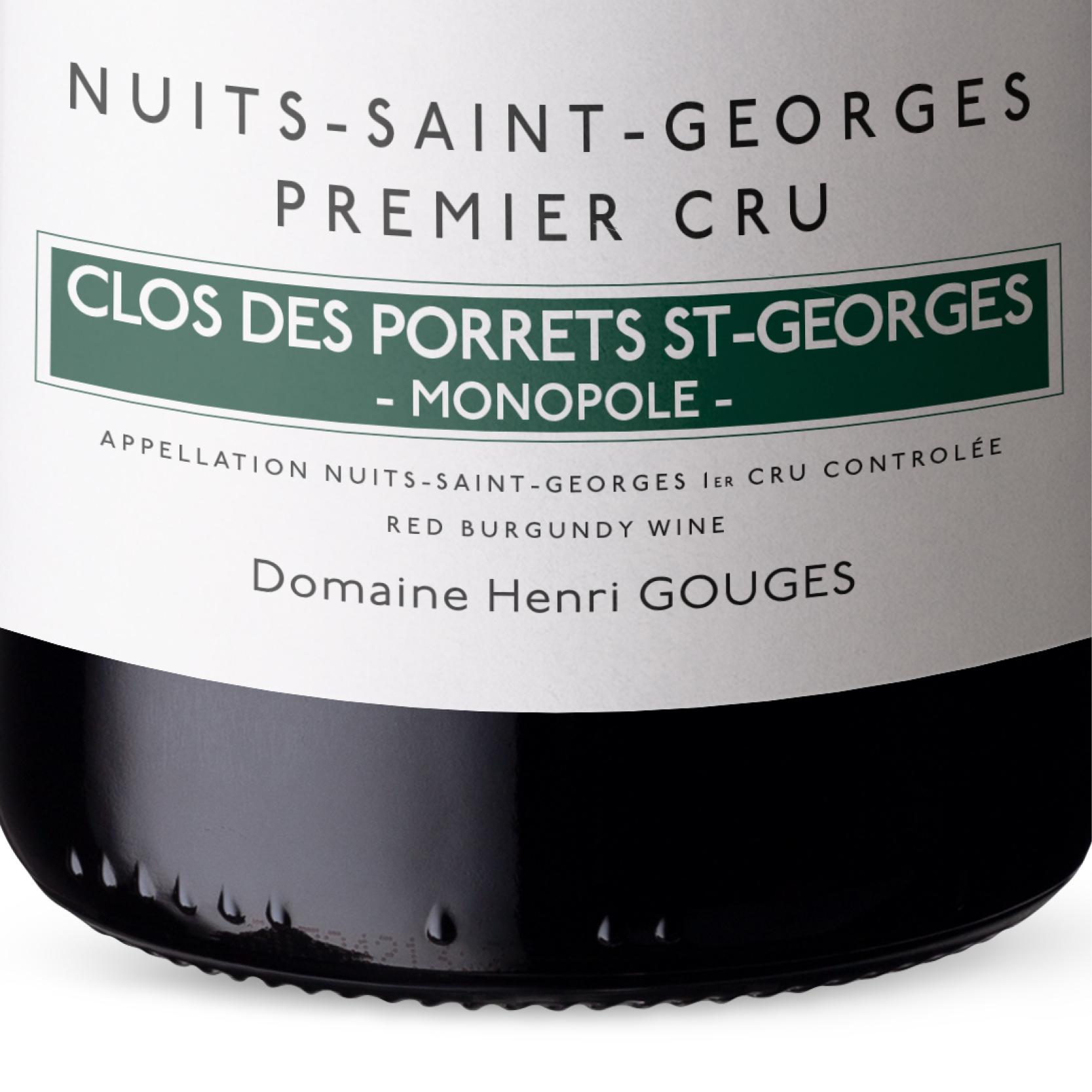 Henri Gouges - Clos des Porrets - Nuits Saint Georges