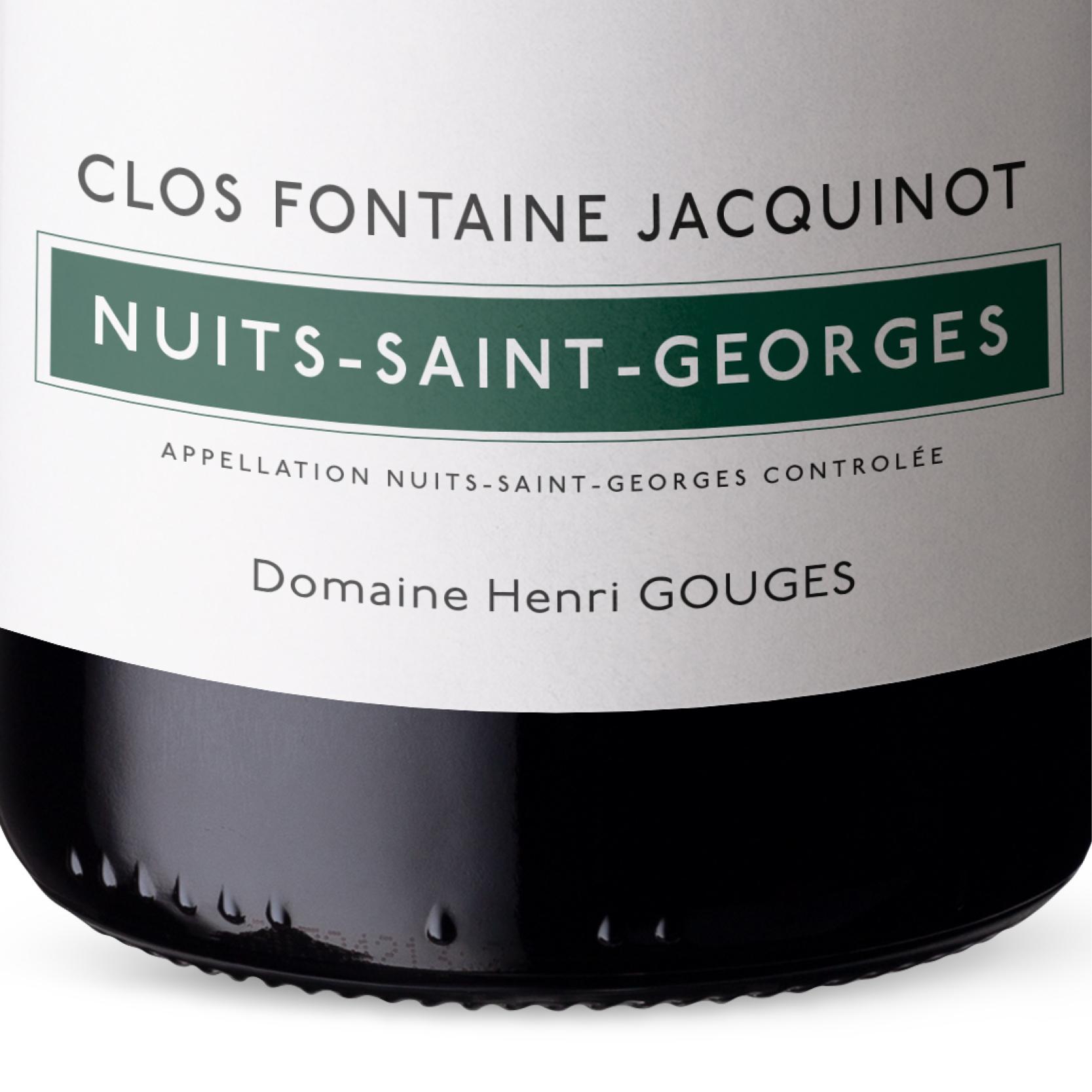 Henri Gouges - Fontaine Jacquinot - Nuits Saint Georges