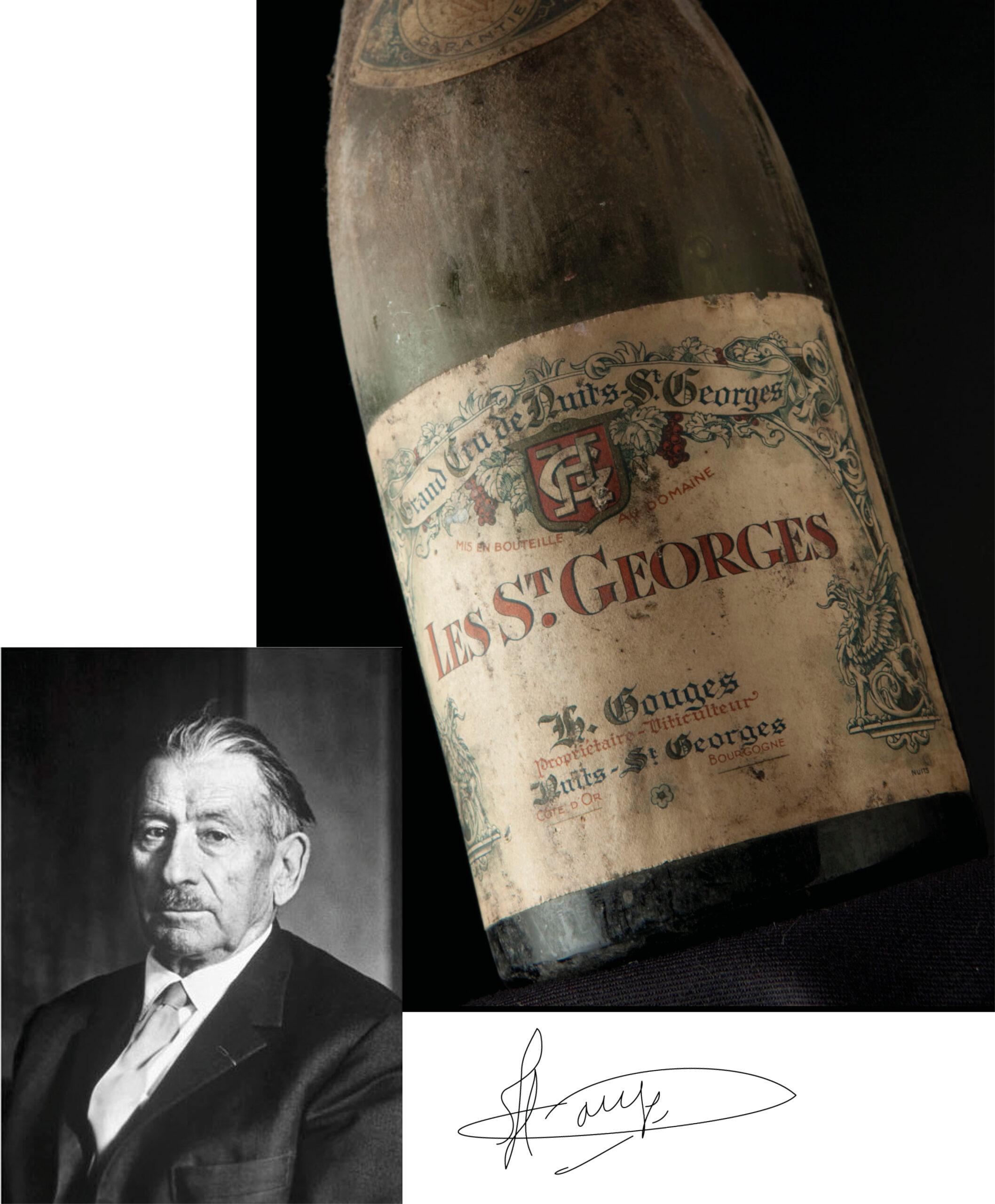 Henri Gouges - Les Saint Georges - ancienne bouteille